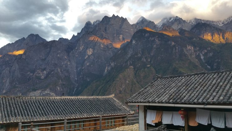 Teahorse Guesthouse - view from the dorm